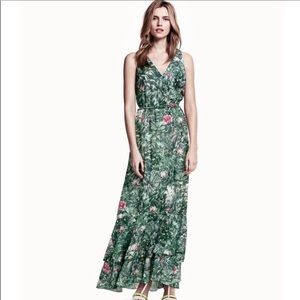 H&M conscious collection jungle print maxi dress 4
